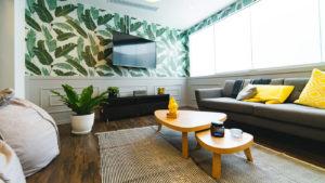 projekt pokoju gościnnego domu